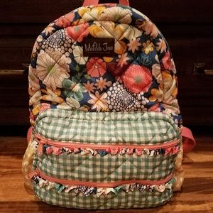 Matilda Jane boutique large full size backpack